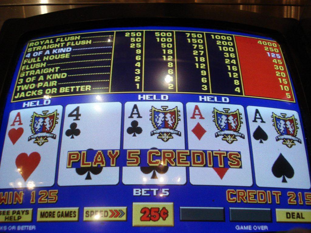 видео игровые автоматы покер